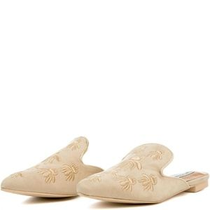 Shoes - Women's Beige Mules